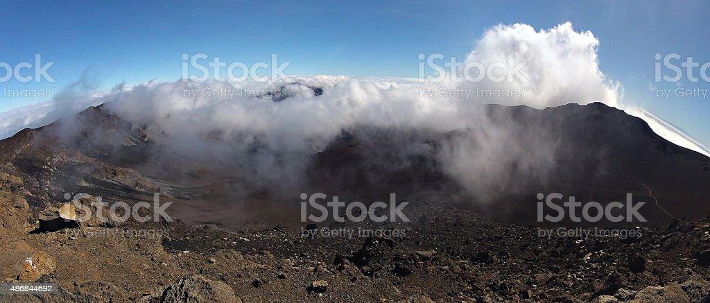 Haleakala National Park, Maui stock photo