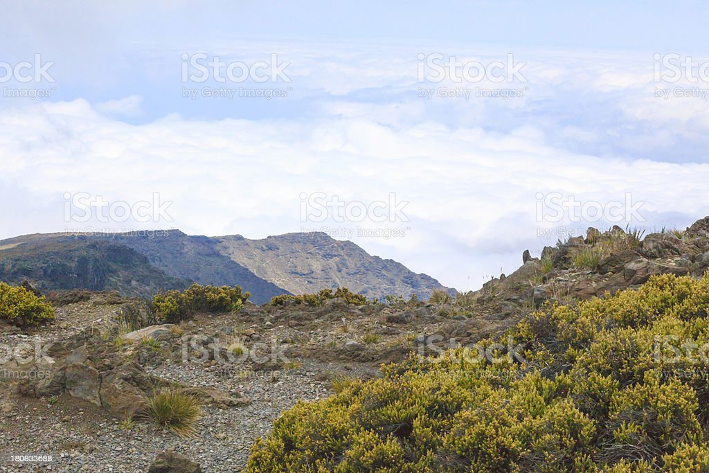 Haleakala royalty-free stock photo
