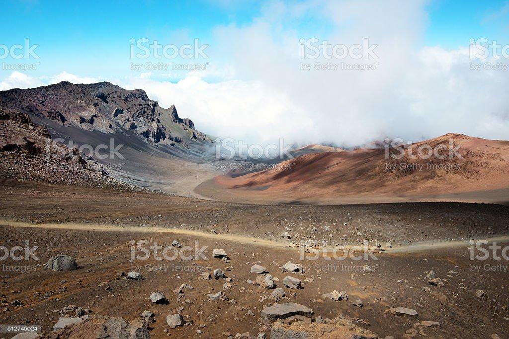 Haleakala stock photo