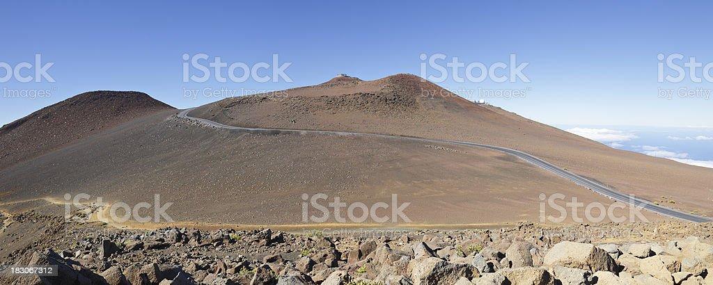 Haleakala Summit stock photo