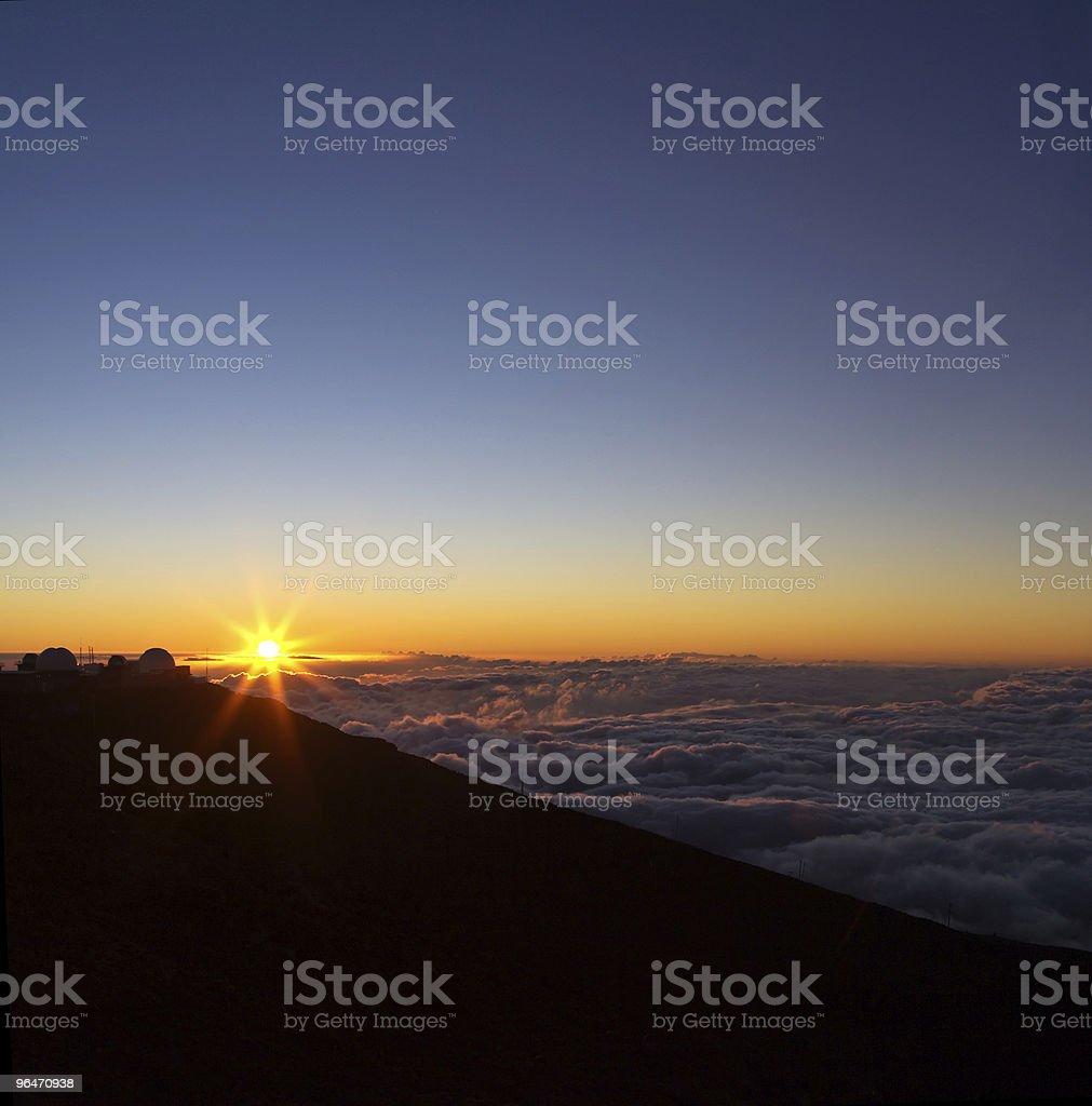 Haleakala View royalty-free stock photo