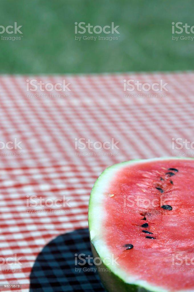 Half a Melon royalty-free stock photo