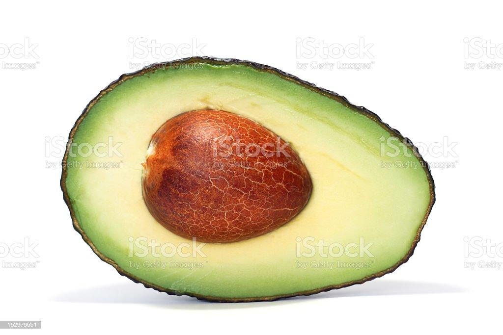 half avocado royalty-free stock photo