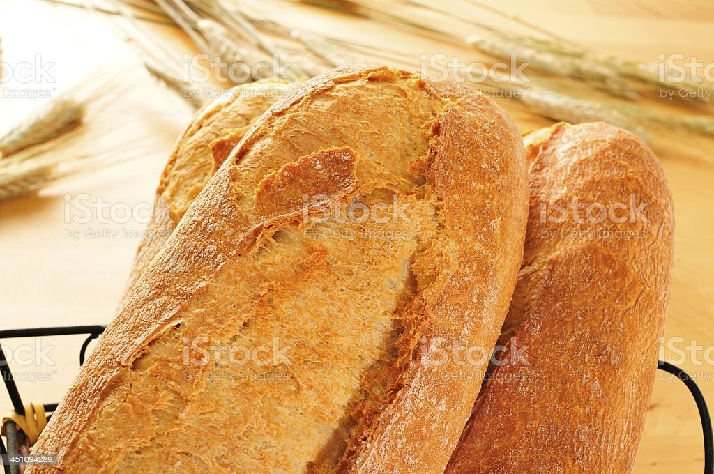 demi baguettes royalty-free stock photo