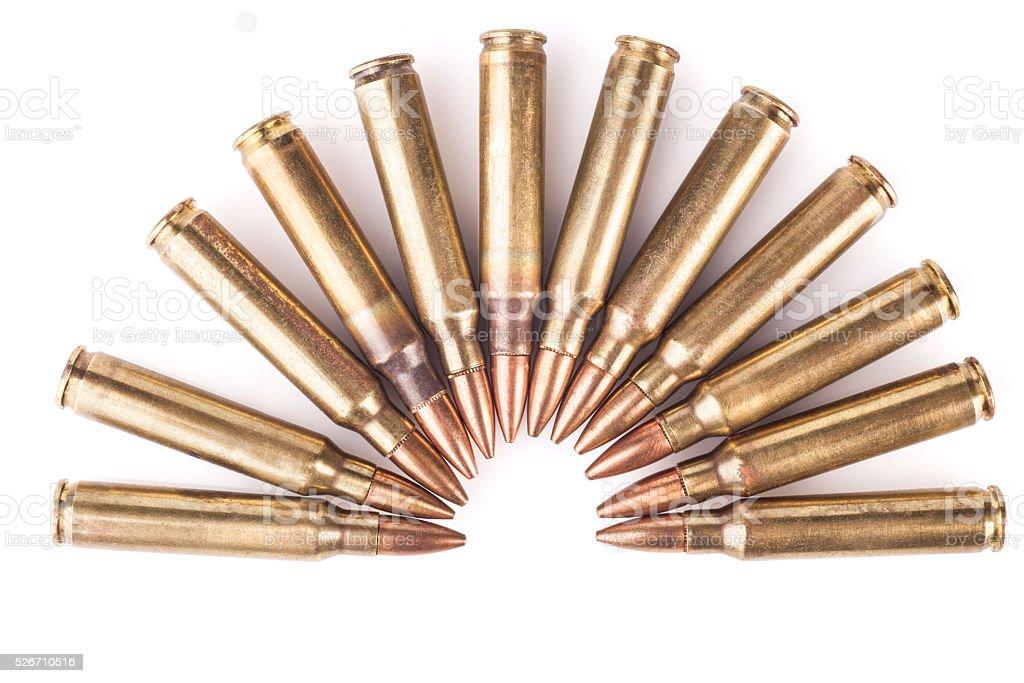Half Circle Bullets stock photo