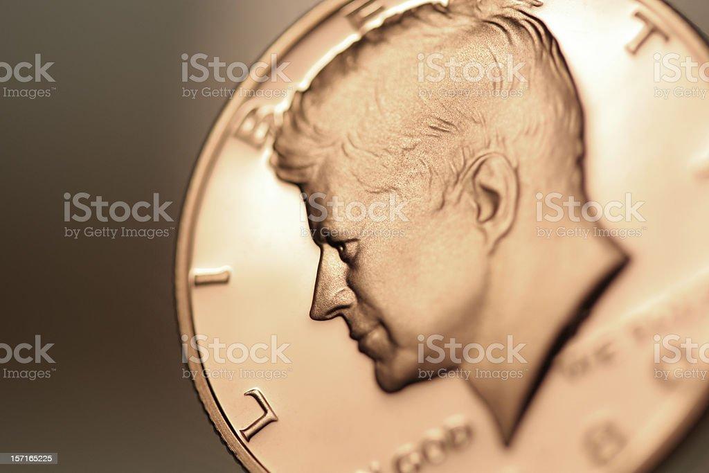 half dollar stock photo