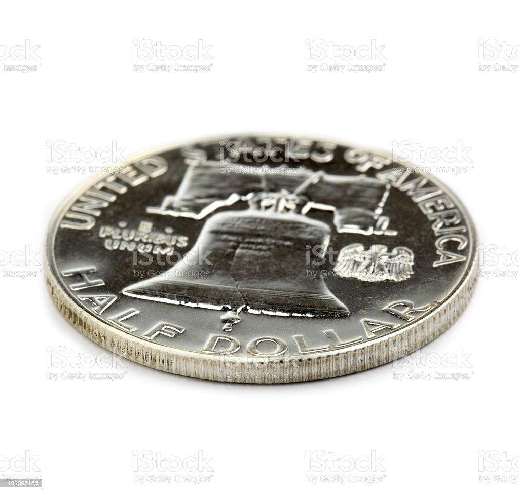 US Half Dollar stock photo