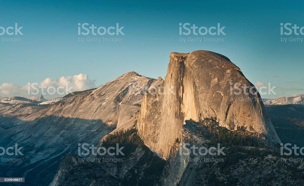 Half Dome in Yosemite National Park stock photo