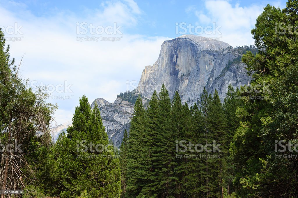 Half Dome Rock stock photo