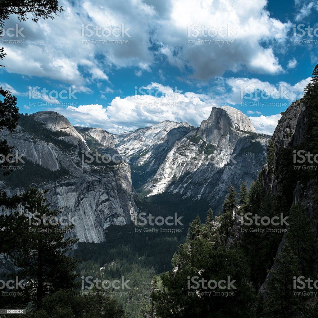 Half Dome Yosemite California stock photo