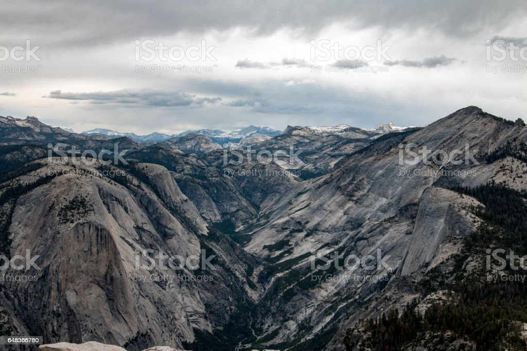 Half Dome, Yosemite National Park, California stock photo