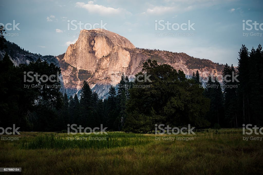 Half Dome, Yosemite stock photo