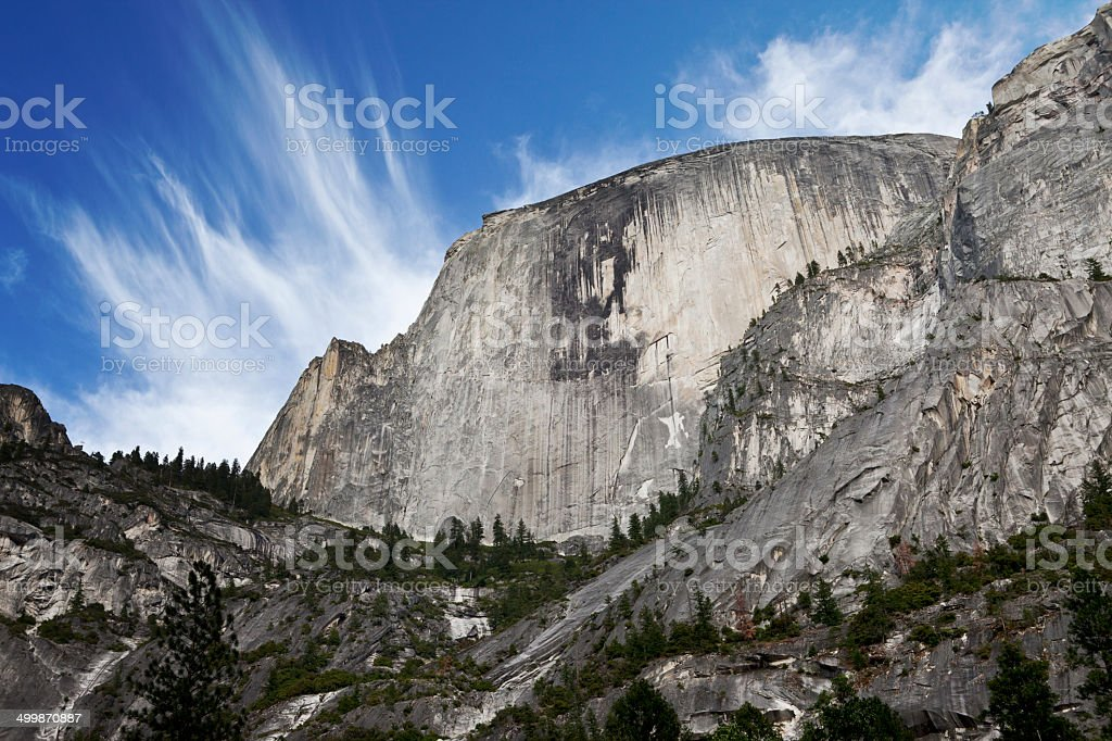 Half Dome - Yosemite Valley stock photo