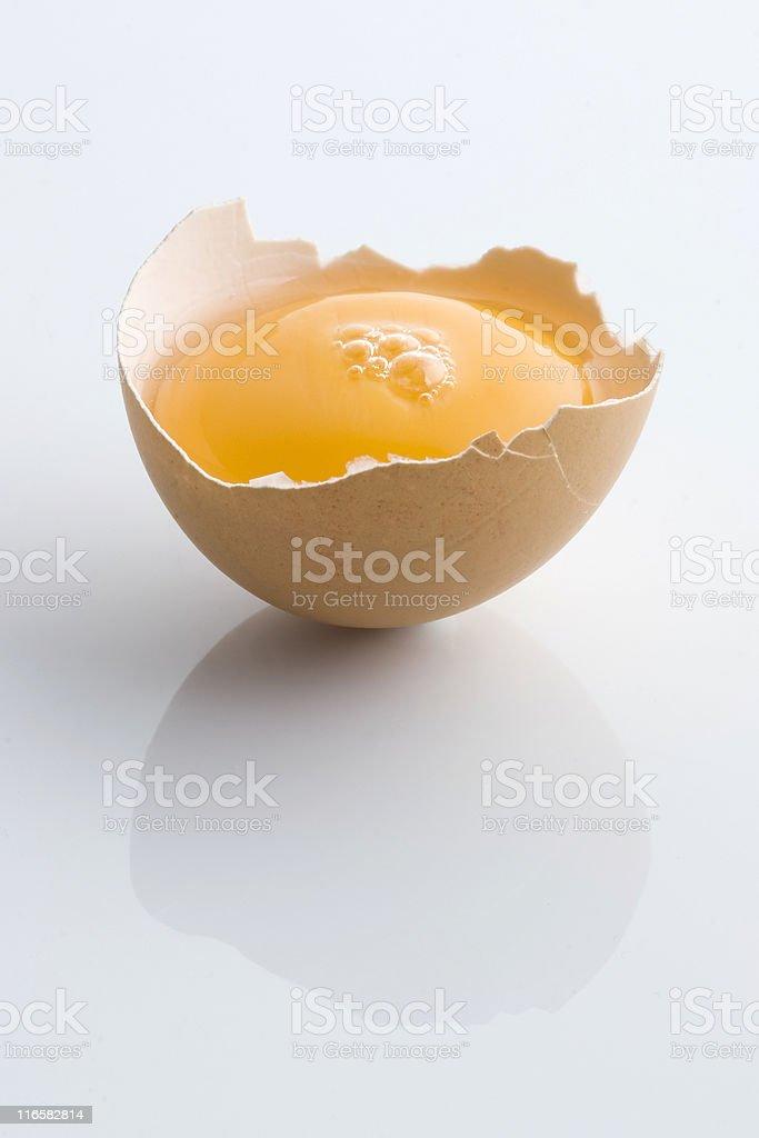 Half egg royalty-free stock photo
