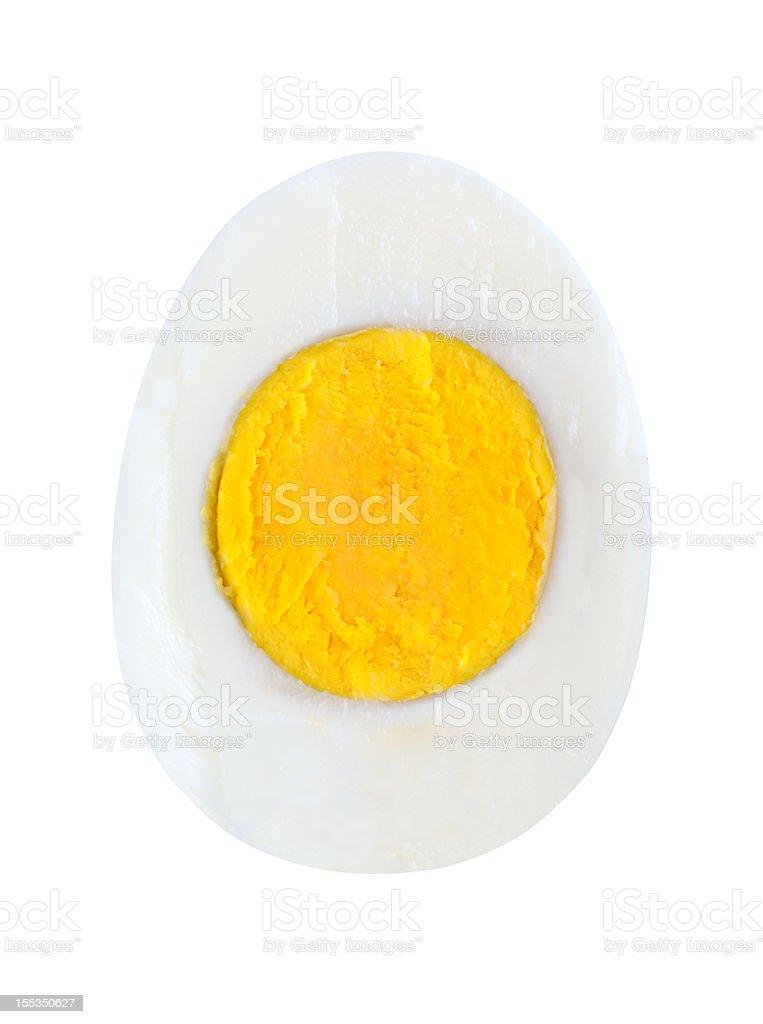 Half egg stock photo