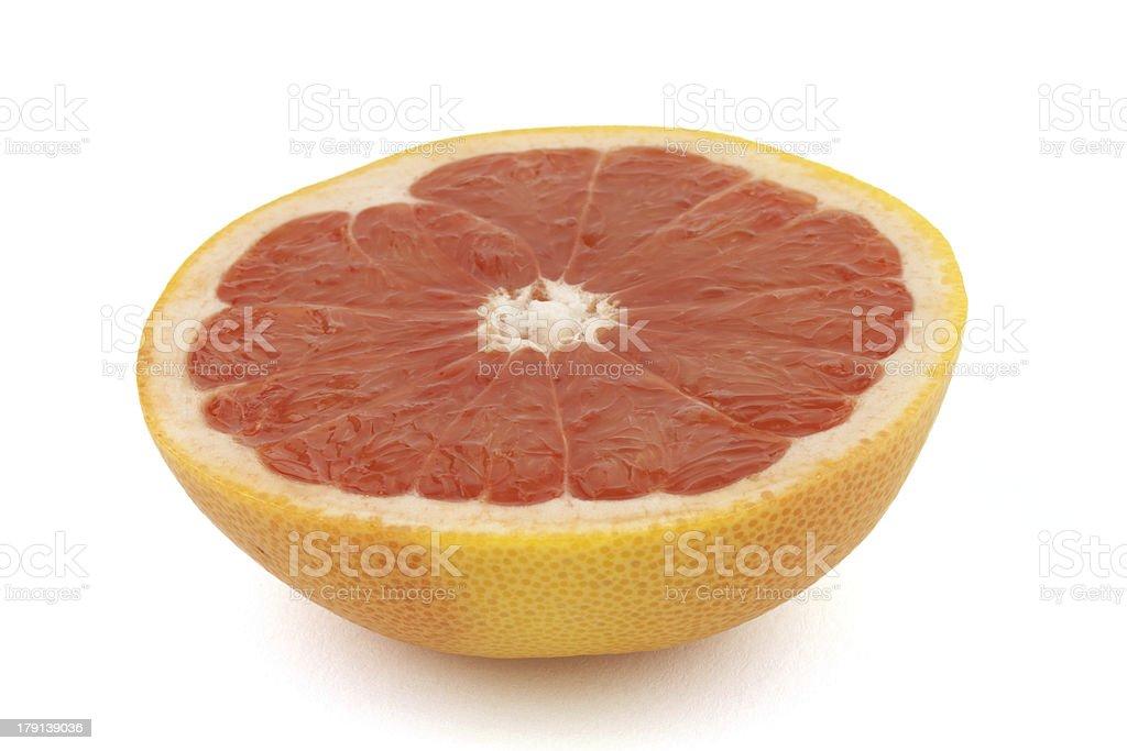 half grapefruit royalty-free stock photo