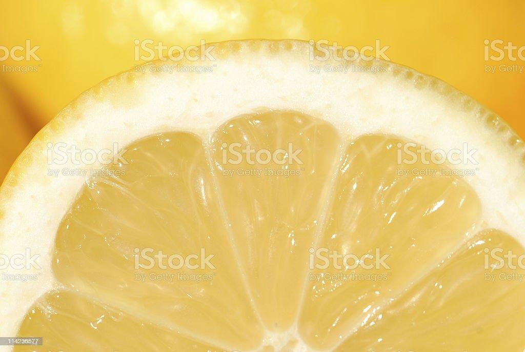 half lemon 3 royalty-free stock photo