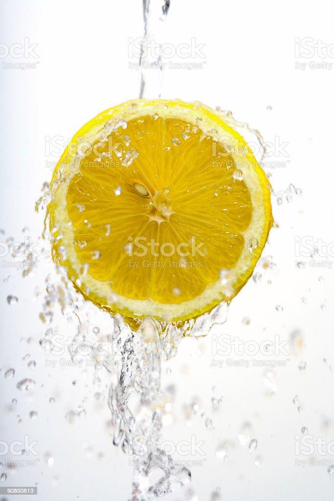 Half lemon wash royalty-free stock photo