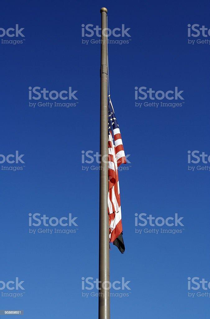 Half Mast stock photo