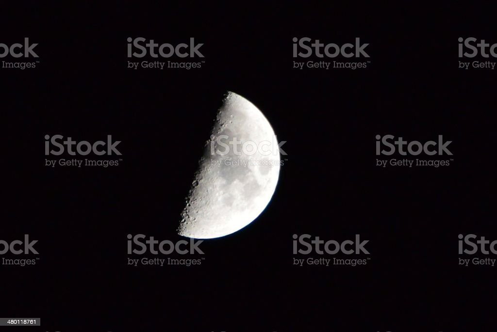 Half Moon 2 stock photo