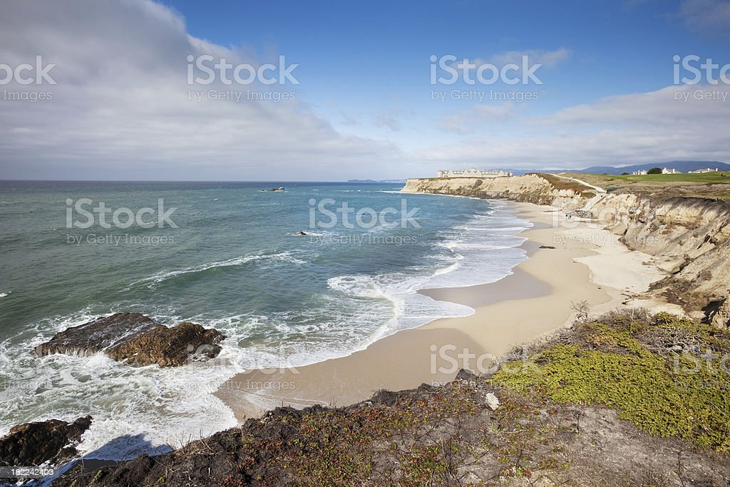 Half Moon Bay California stock photo