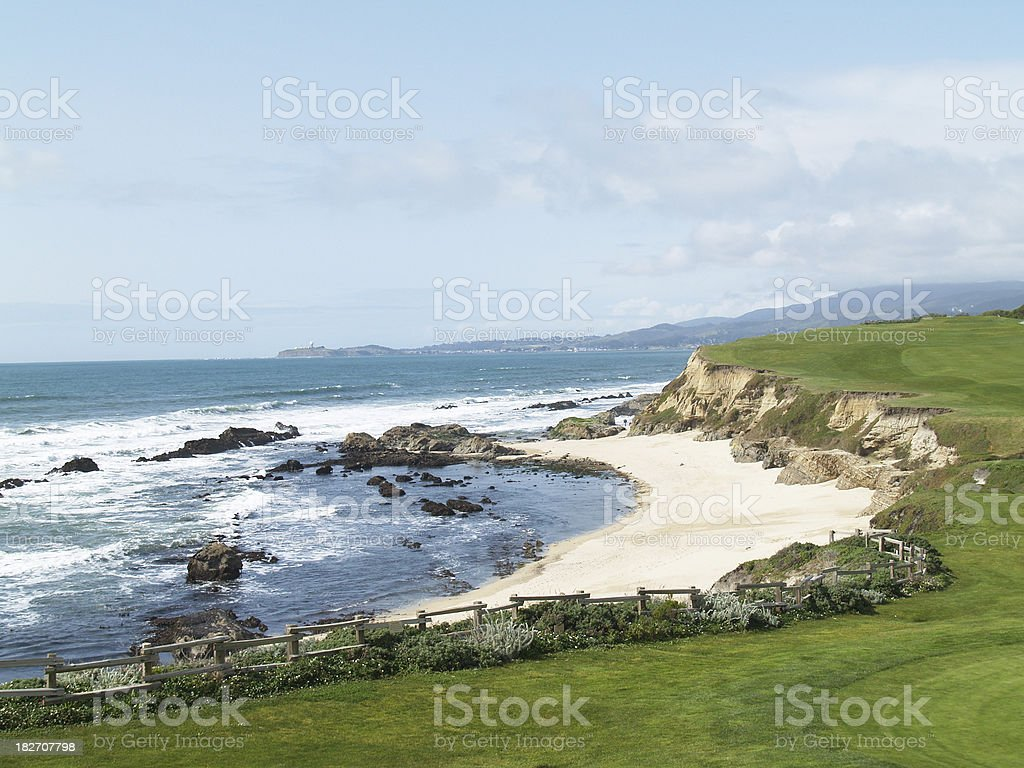 Half Moon Bay, California stock photo