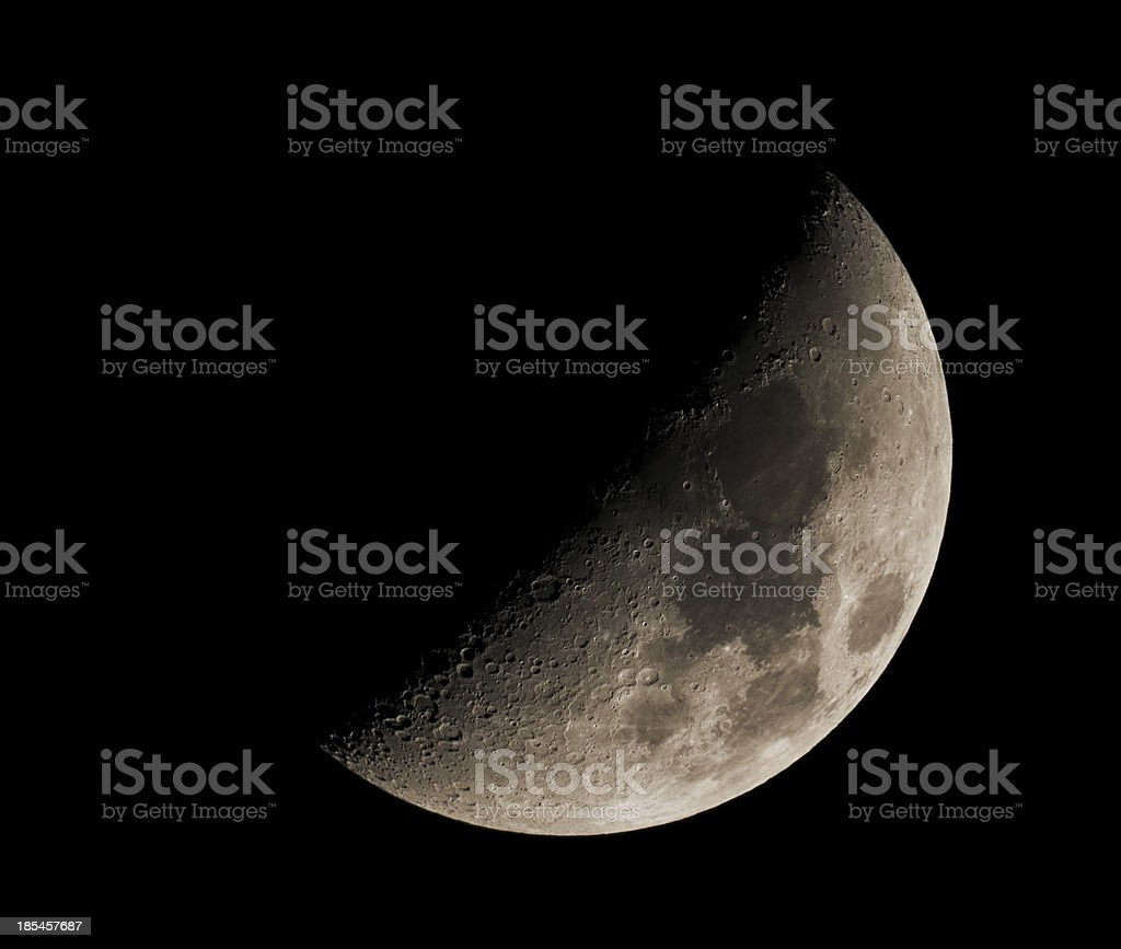 Half Moon royalty-free stock photo