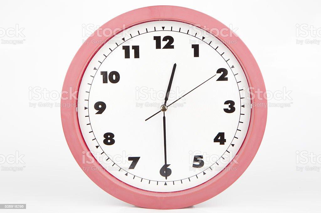 half past twelve o'clock stock photo