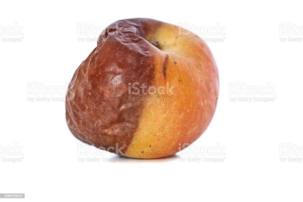 Half Rotten Apple stock photo