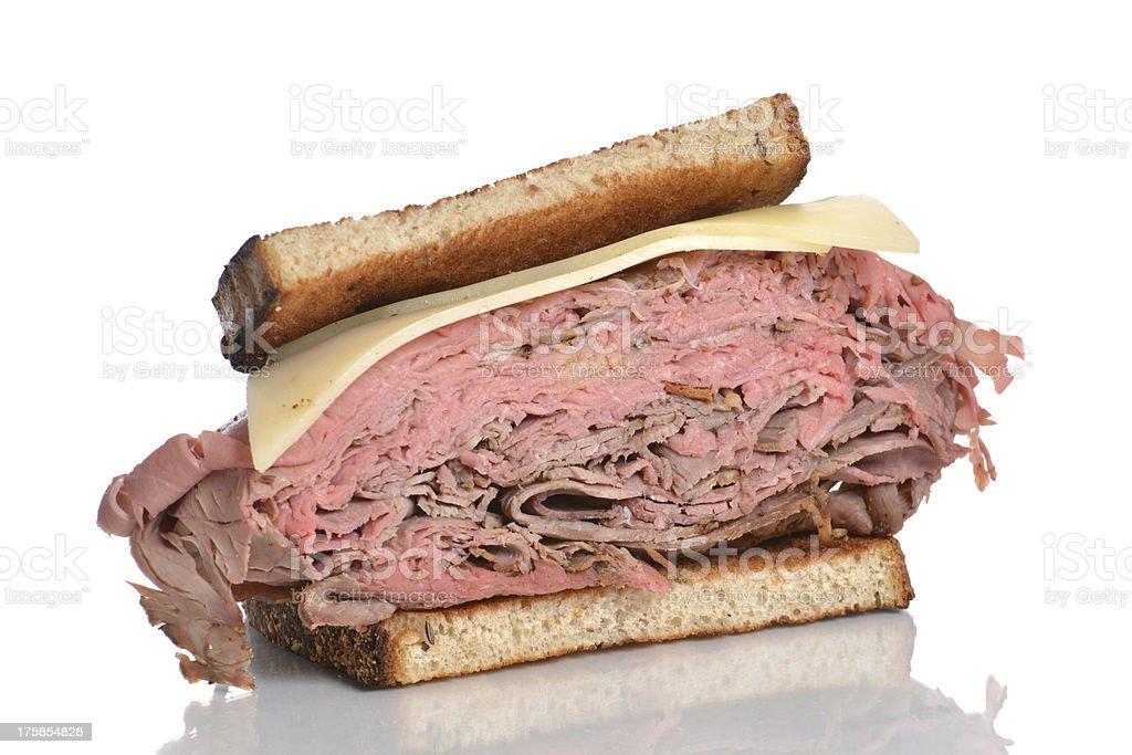 Half Sandwich royalty-free stock photo