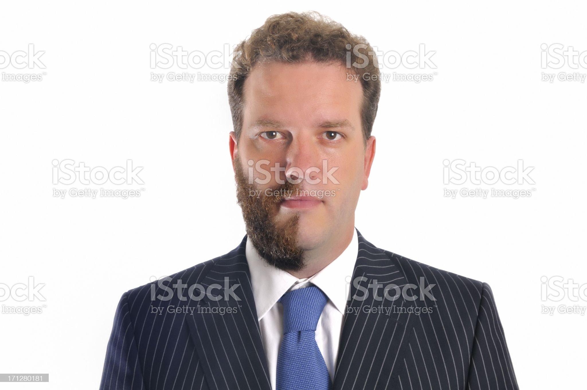 Half shaven royalty-free stock photo