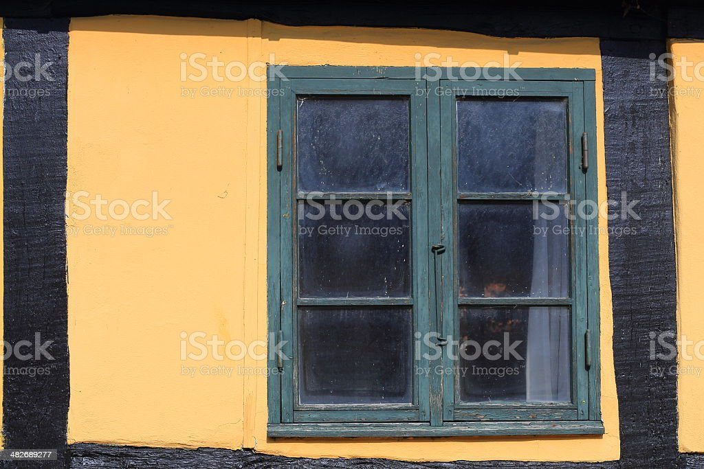 Half timbered town house royalty-free stock photo
