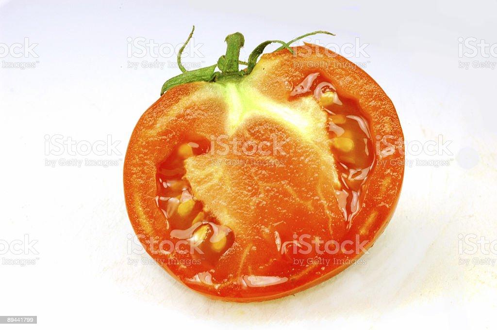half tomato royalty-free stock photo