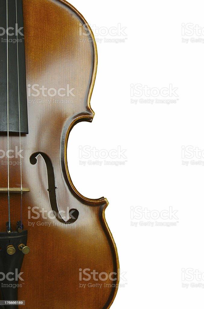 half violin stock photo