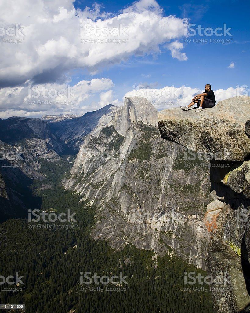 Halfdome Watch stock photo