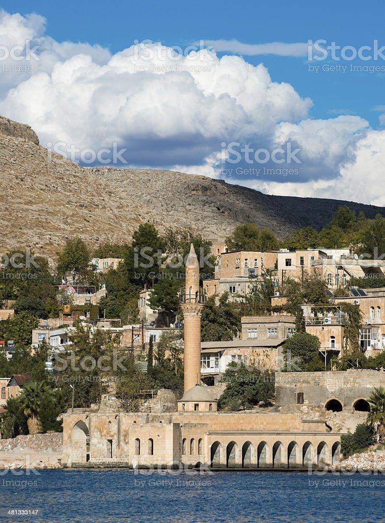 Halfeti City stock photo