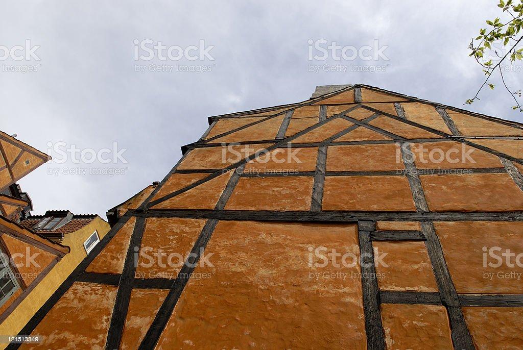 Half-timbered Gable stock photo