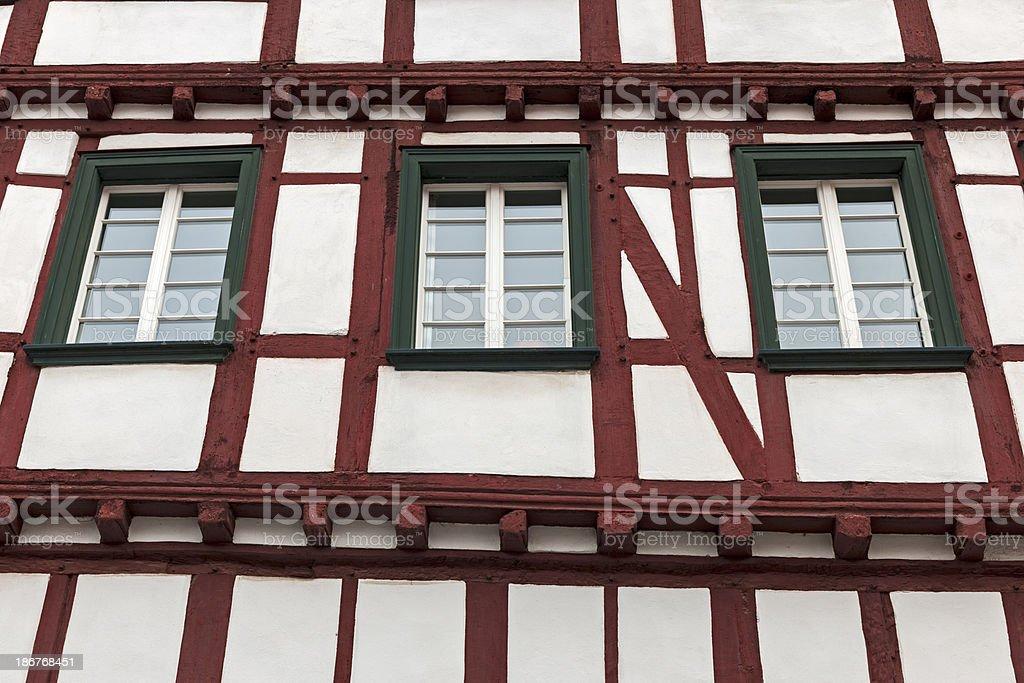 Half-timbered house royalty-free stock photo