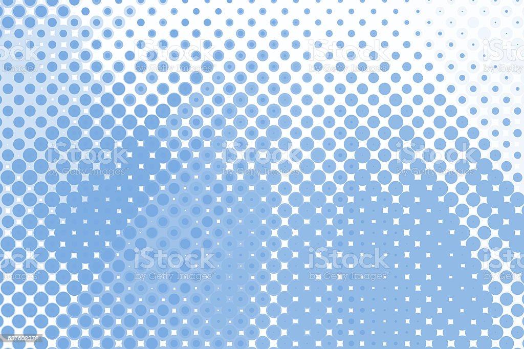 Halftone Background Blue stock photo