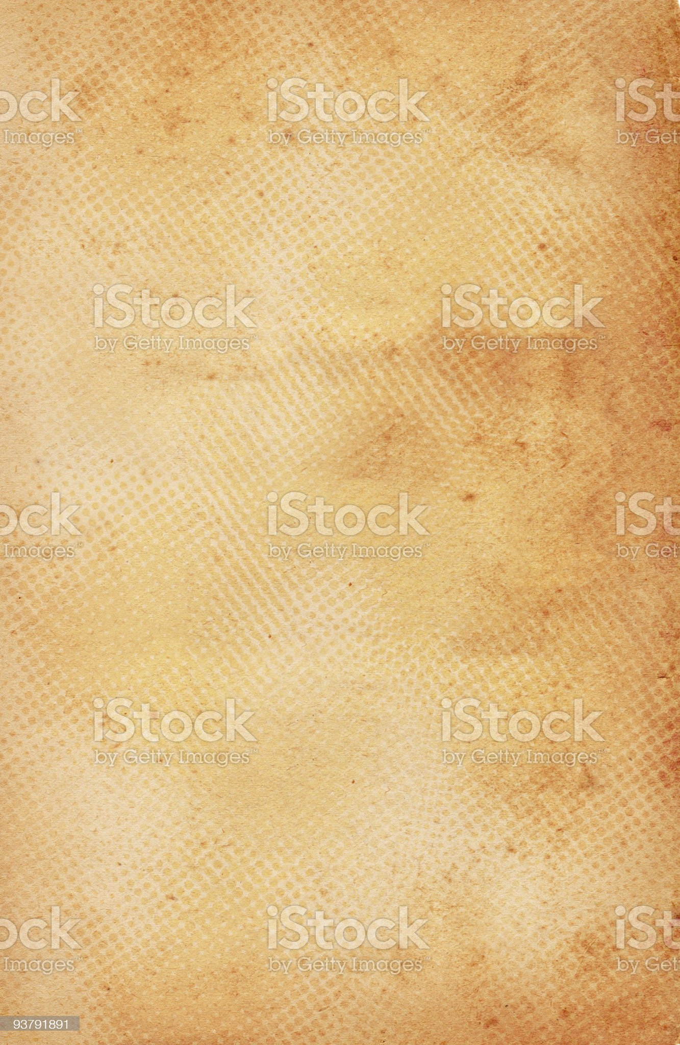 Halftone Paper royalty-free stock photo