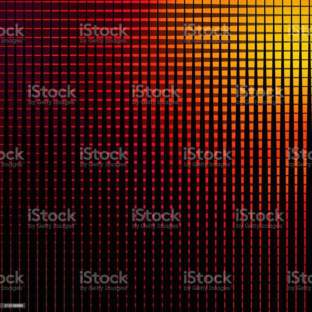 Halftone Pattern Background with Warm Sunset Colors stock photo