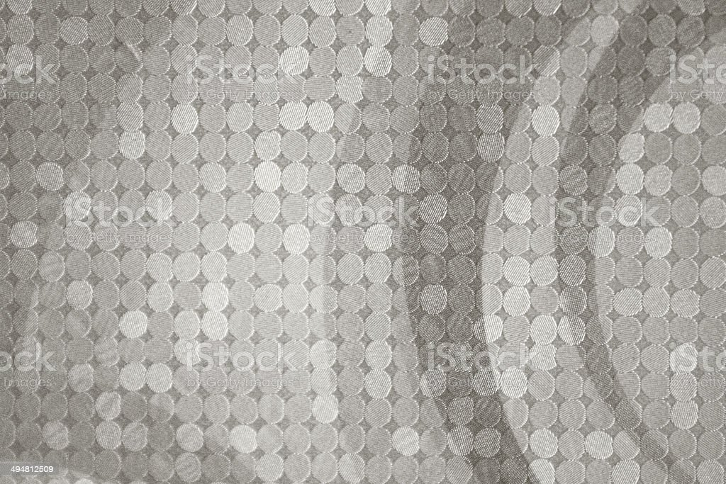 Halftone pattern mosaic texture in shades of gray royalty-free stock photo