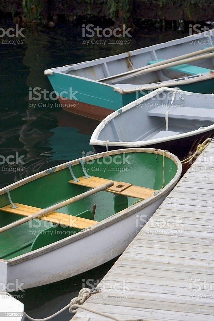 Halifax Boats royalty-free stock photo