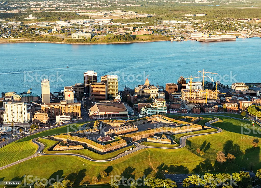 Halifax Citadel Hill National Historic Site stock photo
