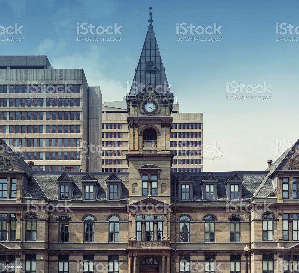 Halifax City Hall stock photo