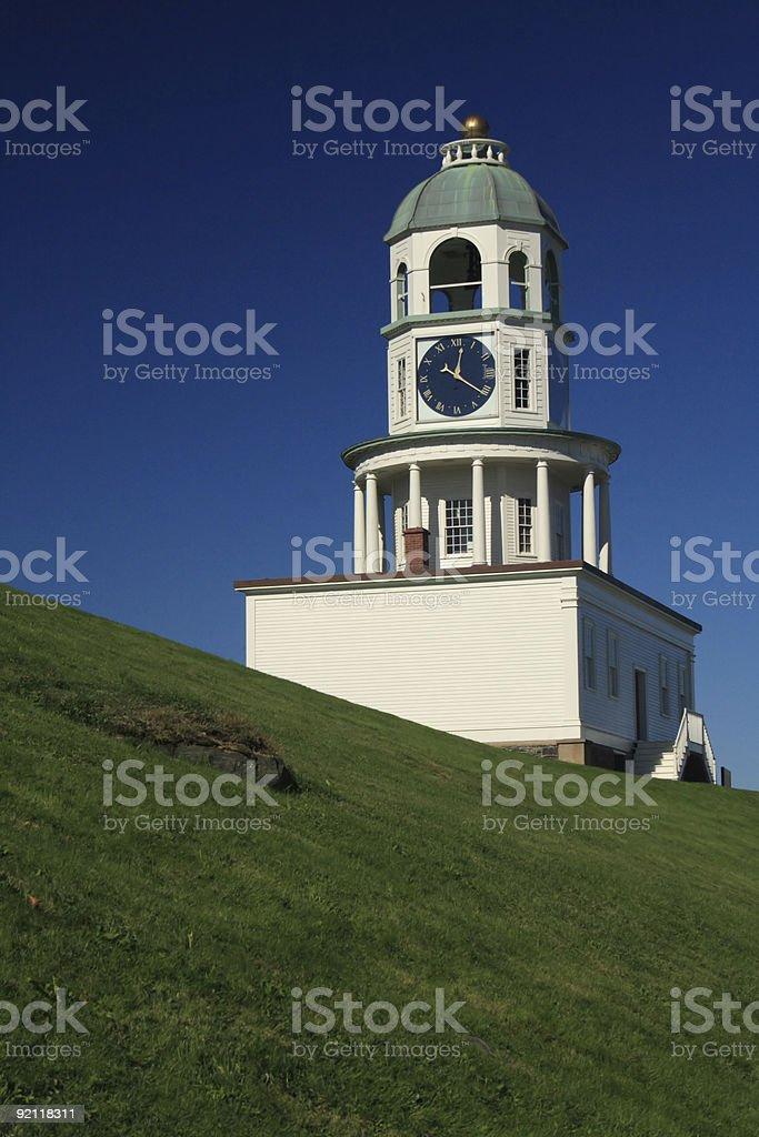 Halifax Clock Tower 2 stock photo