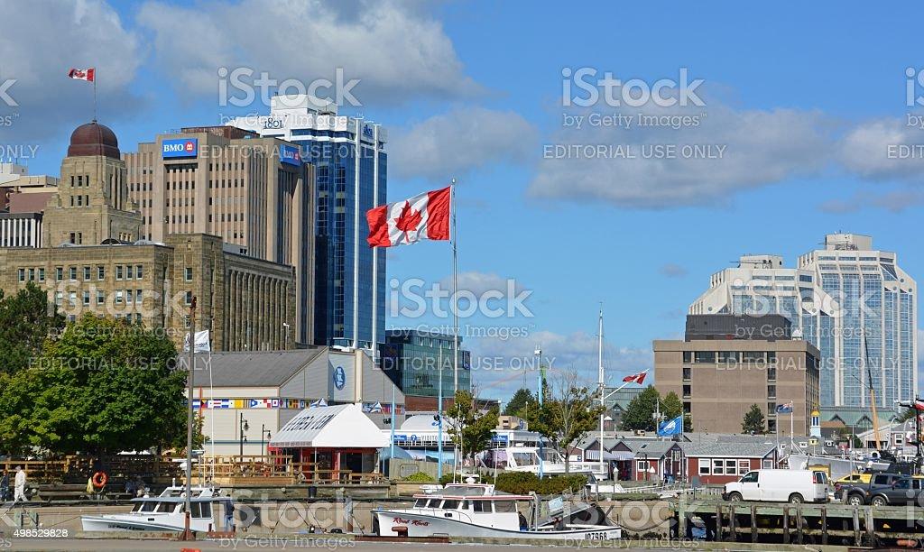 Halifax Harbourfront stock photo
