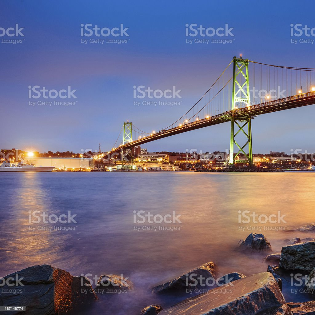 Halifax Nova Scotia stock photo
