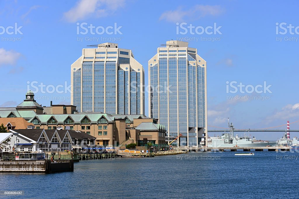 Halifax, Nova Scotia stock photo