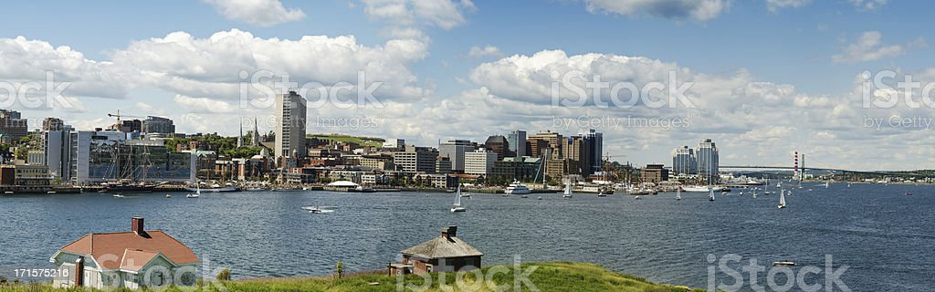 Halifax Panorama royalty-free stock photo